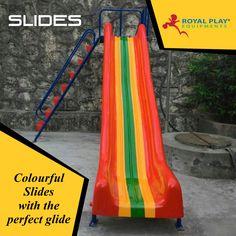 Slides #royalplayequipment #slides #playground #childrensattraction
