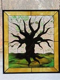 Image result for tree of life stained glass patterns