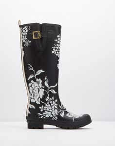 Printed wellies are a great Christmas gift, as we're no doubt in for January snow & showers.