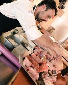 """José Miguel Bonet del #Restaurante @EsVentall nos enseña a preparar un """"bullit de peix"""". #IbizaSabor17 #Ibiza"""