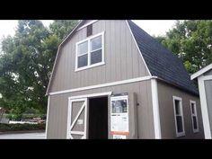 Home Depot Outdoor Storage Barn Summer Wind 16u0027 X 16u0027 SKU ...
