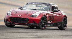 Mazda MX-5 Cup Racer, listo para circuito. Uno de los juguetes de circuito mas bonitos que he visto