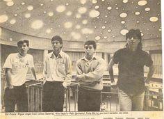 Voz Propia. Foto publicada en la revista Caretas. Artículo de Oscar Malca sobre el Concurso de Rock No Profesional.