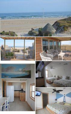 Lighthouse at Sandollar Sity Beach House Rentals on the Beach in Port Aransas, Texas.