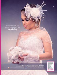 Anúncio Gloss Acessórios & Ateliê na Revista Maximu's Noivas