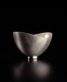 By Adrian Hope. Oval line bowl.