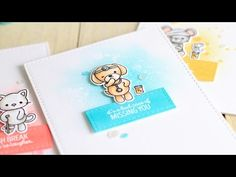 Stamp Away With Me: VIDEO: Friends For All Seasons Product Close Up & Ink Blended Backgrounds