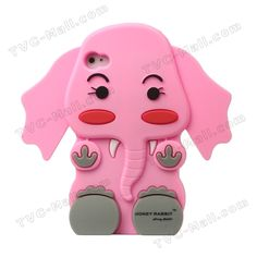 3D iPhone 4 Cases | ... 3D Elephant Silicone Case Cover for iPhone 4 4S - iPhone 4 / 4S