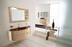 Wooden Bathroom Renovation With Mirror And Wall Light, basement bathroom designs, basement bathroom plumbing ~ Home Design Modern Bathroom Accessories, Modern Bathroom Decor, Wooden Bathroom, Bathroom Wall Art, Bathroom Interior, Bathroom Ideas, Bathrooms Decor, Bathroom Bath, Bathroom Mirrors