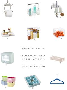 Stand Out Organizing Products // Live Simply by Annie