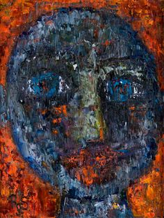 "Behind Blue Eyes Collection. ""Minka"", 35x25, Oil on Canvas. Artist: Rene Romero Schuler. www.reneschuler.com"