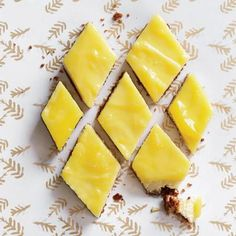 Lemon Cheesecake Bars with Gingersnap Crust Recipe | CookingLight.com