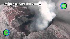 Imágenes del cráter del Popocatépetl nunca antes vistas