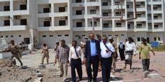 #اليمن   نائب وزير السياحة يتفقد المنشئات السياحية التي تعرضت للدمار في عدن