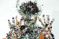 Psychogeographies: 3D Collages Encased in Layers of Glass by Dustin Yellinby Johnny Strategy on March 21, 2014