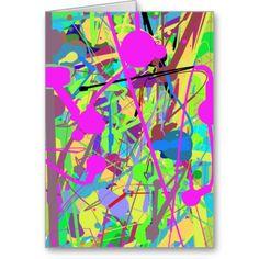 60-93 Springtime Colors Greeting Card