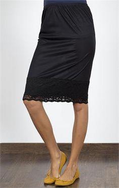 crochet pencil skirt extender slip clothing style