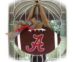 Alabama football door hanger on Etsy, $30.00
