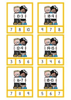 Subtraktion .pdf – OneDrive Math Crafts, Math Projects, Math For Kids, Puzzles For Kids, Math Games, Math Activities, Fun Learning, Teaching Kids, Place Value Worksheets
