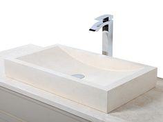 Beautiful Rectangular Stone Basin http://www.stonewood.uk.com/products/basins-and-bowls/