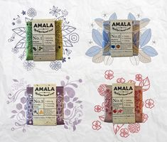 Amala Natural Hand Soap (Student Project) on Packaging of the World - Creative Package Design Gallery