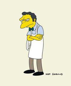 Springfield Characters: Moe Szyslak