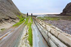 Un paso por el flysch son diez mil años,situado en la  #CostaVasca,abarca los municipios de #Zumaia #Deba #Mutriku.
