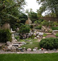 I don't have a green thumb...I'll need lots of rocks in my garden ; )