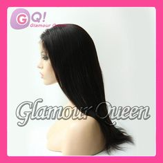 Unprocessed virgin Italian yaki straight Middle parting 4*4 silk top full lace human hair wigs & lace front wig with baby hair