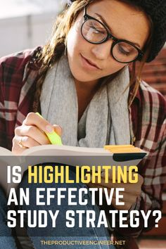 Do you spend time highlighting during your study sessions and wonder whether it actually helps you learn? We did the research into whether highlighting is an effective study strategy and have the answer in this in-depth article! #university #studying #college #collegelife Study Skills, Study Tips, Best Study Techniques, Online Learning Sites, Personal Development Skills, Aim In Life, Knowledge Worker, Exams Tips, School Application