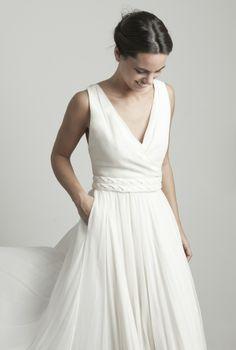 Marta Martí Novias #weddingdresses #bride