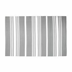 Tapis d'extérieur en polypropylène gris 180 x 270 cm TRANSAT