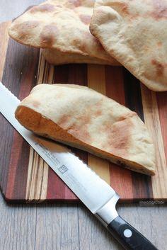 Whole Wheat Homemade Pitas