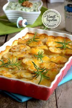 Kremalı Patates Tarifi Oven Dishes, Cheeseburger Chowder, Thai Red Curry, Soup, Ethnic Recipes, 1, Foods, Food Recipes, Food Food