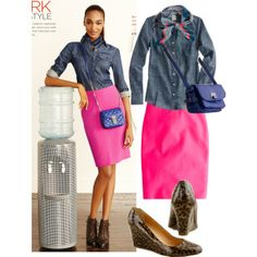 Work Style by jcrewchick on Polyvore