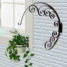 Cheap decor, Buy Quality decor decoration directly from China decorative heels Suppliers: Titel:Creative Hanging Flower Stand x 17 Simple & Cheap Home Creative Decoration ( Just 5 Minutes ) Flower Stands, Iron Furniture, Decor, Plant Stand, Metal Crafts, Cheap Home Decor, Iron Decor, Home Decor, Hanging Planters