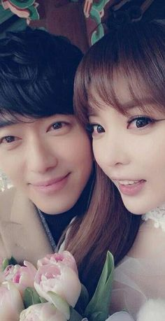 Nam Goong Min and Hong Jin Young first picture together