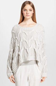 Donna Karan New York Hand Knit Cashmere Sweater