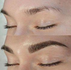 Перманентный макияж, татуаж бровей