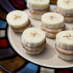 Healthy Dessert: Frozen Nutty Banana Nibblers