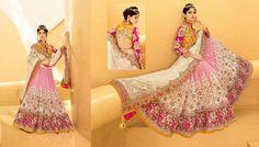 #buy #Shopping Designer #ArtSilk & #Net #SatinSilk #LehengaCholi specially for #Bridal online #buy #Shopping here (Cat - 6253)