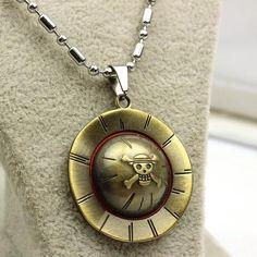 Wear the famous pirate's hat - Monkey D. Luffy Item Type: Necklaces Necklace Type: Chains Necklaces Material: Zinc Alloy Length: 50cm Metals Type: Zinc Alloy