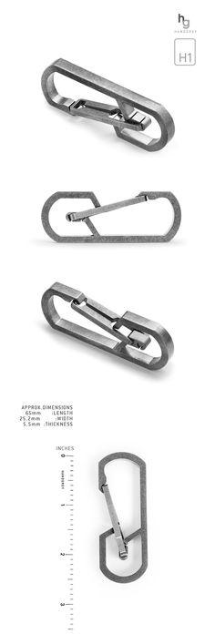 TITANIUM QUICK RELEASE CARABINER: MODEL H1