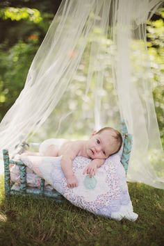 Baby Nora's One Month Photo Session By Valerie Shelton Photography. Sweet Baby