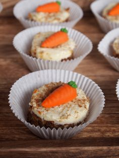 Our super delicious Mini Ginger-Carrot Cake