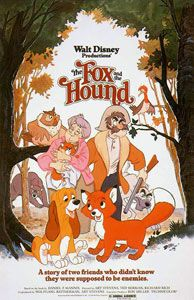The Fox and the Hound is a 1981 American animated feature loosely based on the Daniel P. Mannix novel of the same name, produced by Walt Disney Productions and released in the United States on July 10, 1981. The 24th film in the Walt Disney Animated Classics series. The film tells the story of two unlikely friends, a red fox named Tod and a hound dog named Copper, who struggle to preserve their friendship despite their emerging instincts and the