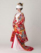 Kimono Gown, Irouchikake from MARIE CLASSE