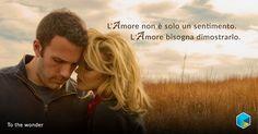 """L'amore non è solo un sentimento. L'amore bisogna dimostrarlo"" #Malik #BenAffleck #TIMvision #amore http://tim.social/wonder"