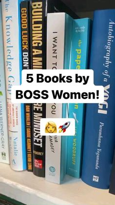5 Must Read Books By Boss Ladies 📚👩