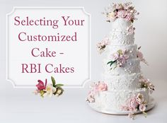How to select the best customized cake for you featuring celebrity chef Ron Ben-Israel talking all things wedding cakes!